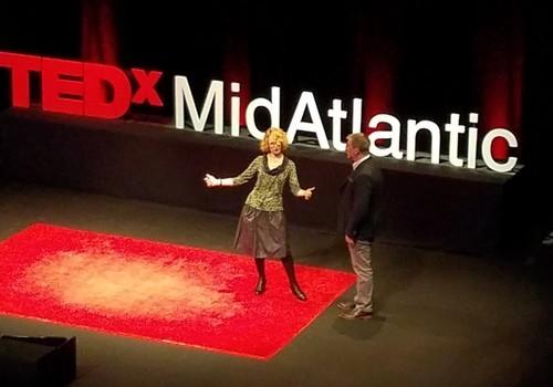 TEDxMidAtlantic stage