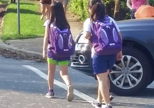 Girls Walk to School